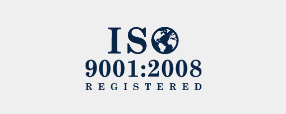 ISO 9001:2008 Registered Logo